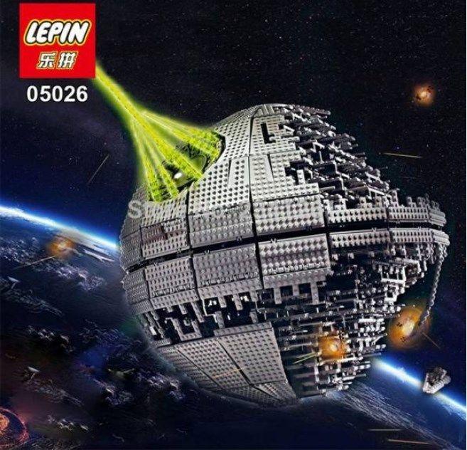 【送料無料】 LEGO(レゴ)互換 LEPIN デススター セカンドジェネレーション スターウォーズ シス 10143 レゴ風【新品】