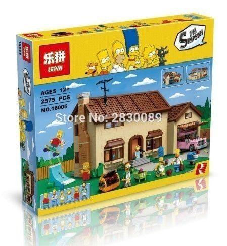【送料無料!】レゴ互換 ザ シンプソンズ ハウス 71006相当 ( 海外製品 )LEPIN【新品】