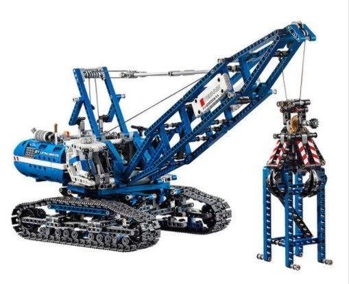 【送料無料!】LEPIN レゴ互換 クローラークレーン テクニックシリーズ 42042相当 ブロックおもちゃ 教育おもちゃ【新品】