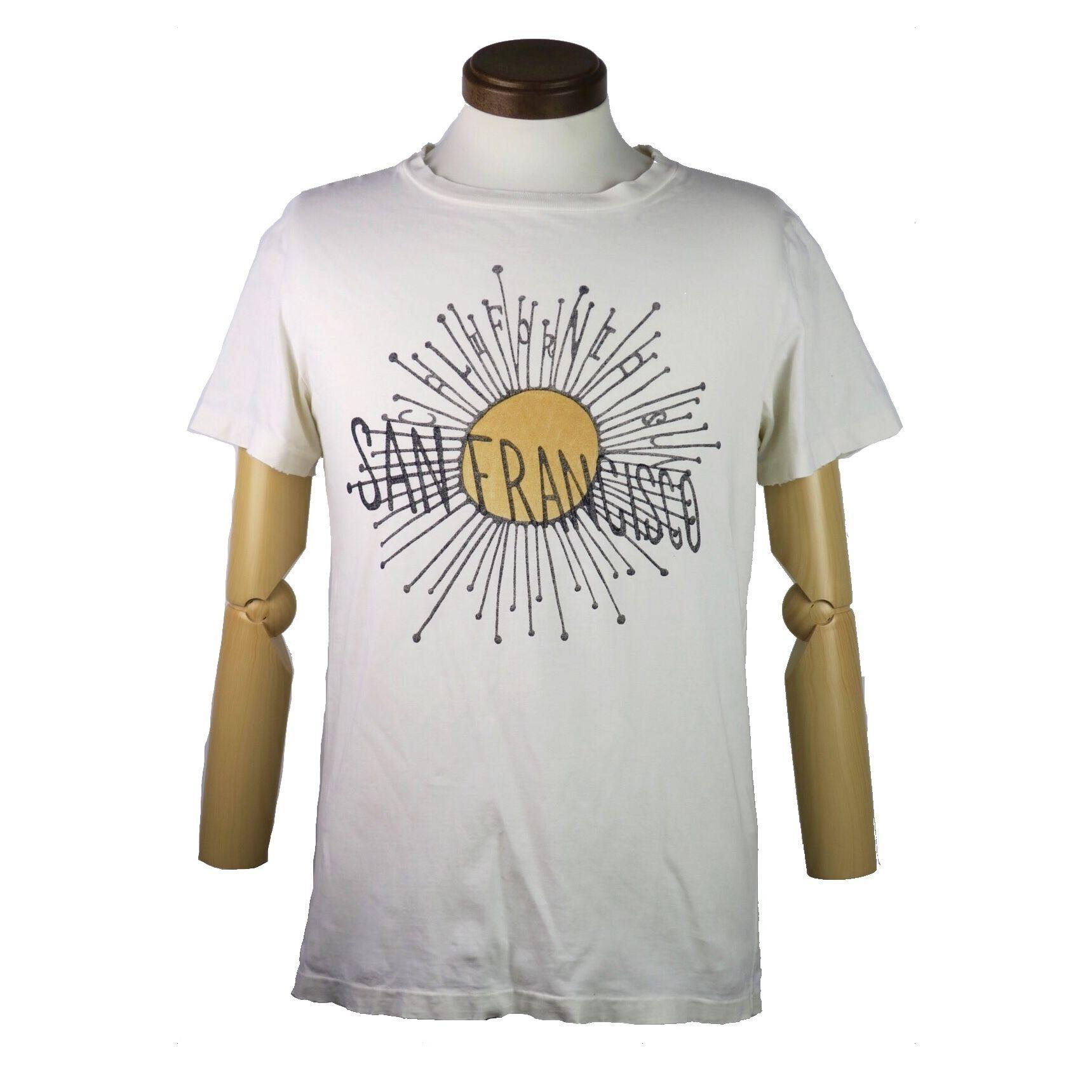 REMI RELIEF(レミレリーフ) used加工サンフランシスコロゴTシャツ