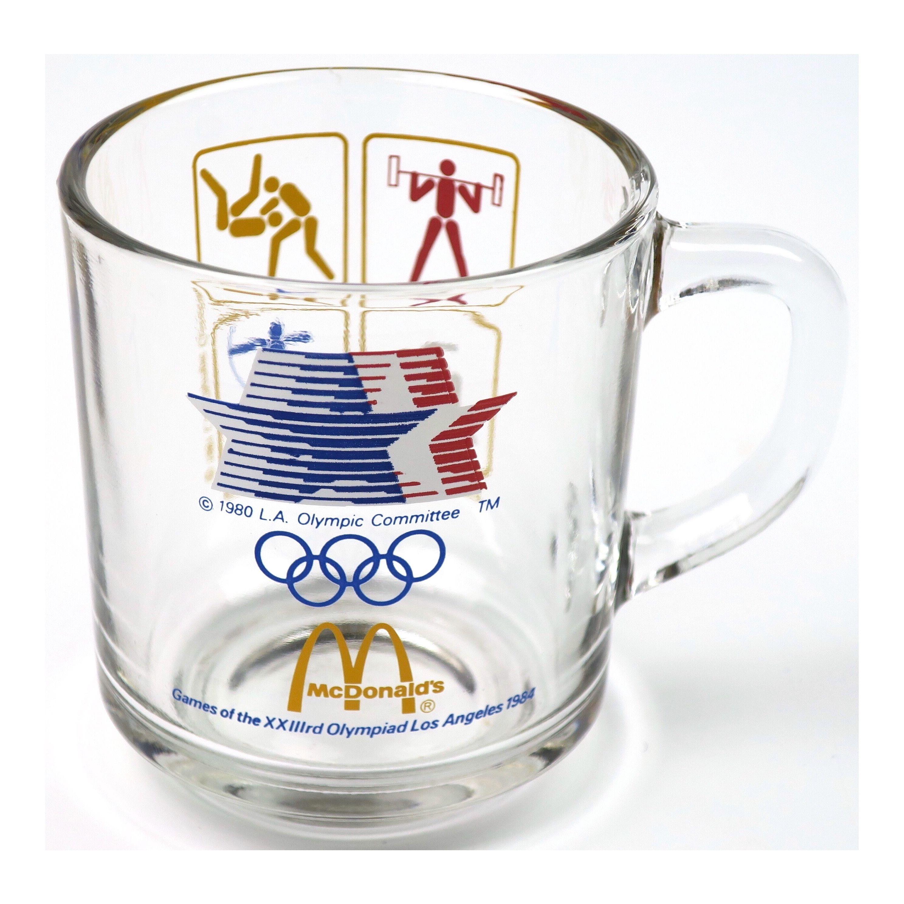 ANCHOR HOCKING(アンカーホッキング) 84 ロサンゼルスオリンピック マクドナルドマグ