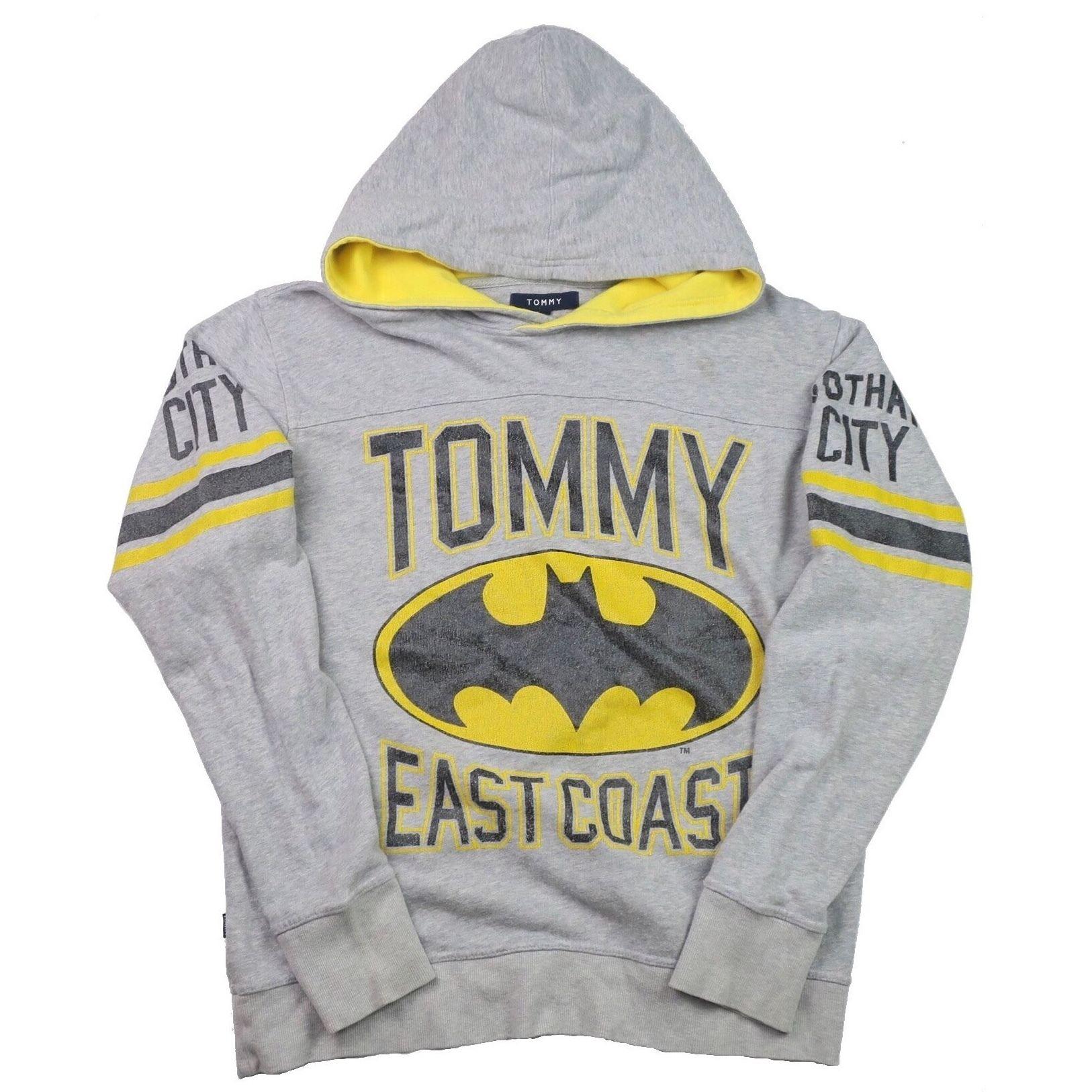 TOMMY HILFIGER(トミーヒルフィガー) バットマン プルオーバー パーカー
