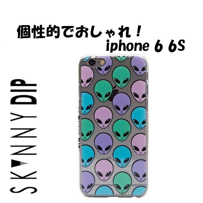 skinnydip スキニーディップ ロンドン 宇宙人 IPHONE 6 6s MARTIAN CASE インベーダー アイフォン シックス エス カバー 保護フィルム セット 海外 ブランド