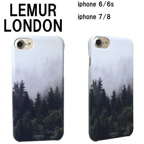 風景画 lemur iphone7 iphone8 アイフォン8 ケース 6 6s スマホケース おしゃれ メンズ