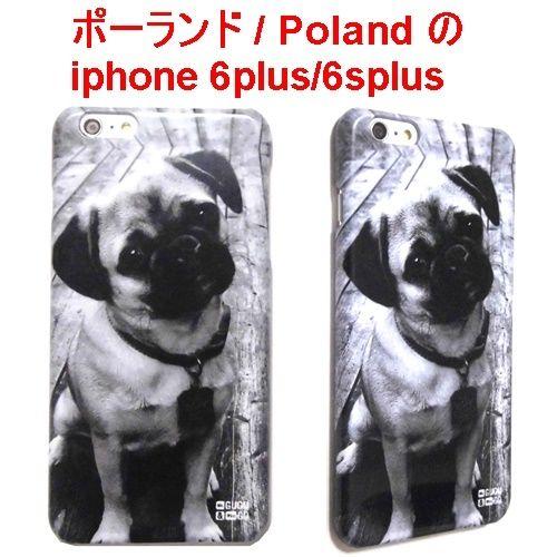 MrGUGU&MissGO ミスターググアンドミスゴー 日本初 パグ PUG phone case iphone 6plus / 6splus 犬 アイフォン シックス エス プラス ケース 海外