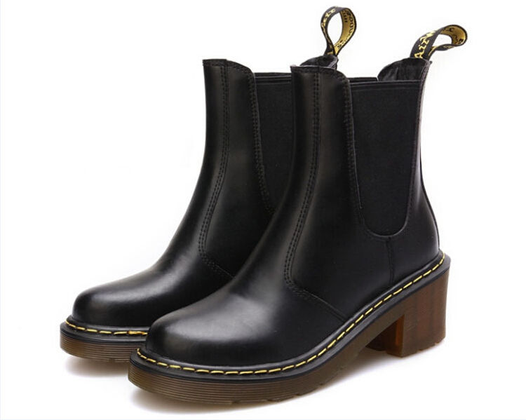 送料無料 ドクターマーチン Dr.Martens ブーツ チェルシー サイドゴア ブーツ  レディース ハイヒール 在庫わずか