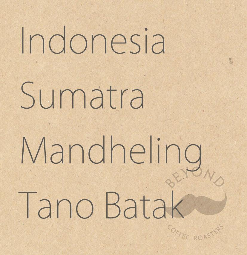 Indonesia Sumatra Mandheling Tano Batak - 200g