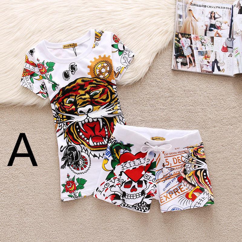 エドハーディー セットアップ レディース ジャージ 上下 半袖  ショート パンツ 短パン ハーフパンツ 綿 送料無料 2XL  大きいサイズ 1687