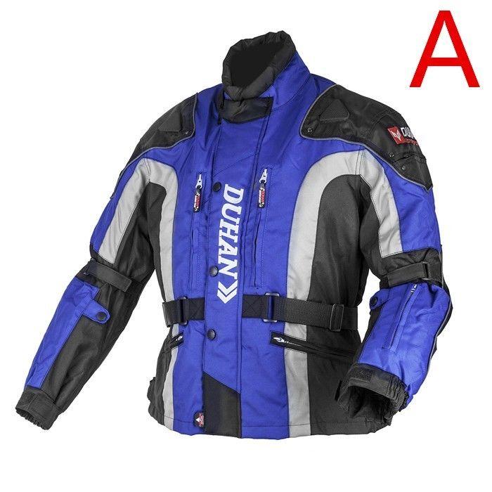 DUHAN製バイクジャケット メッシュ プロテクター装備 レーシング ライディングジャケット ナイロンジャケット バイクウエア 防風 防寒 3シーズン duhanscf02