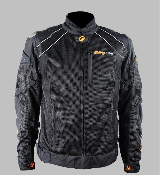 バイクジャケット レーシング ライディングジャケット プロテクター ナイロン ジャケット バイクウエア 防風 防寒 4シーズン 160817jkscf01