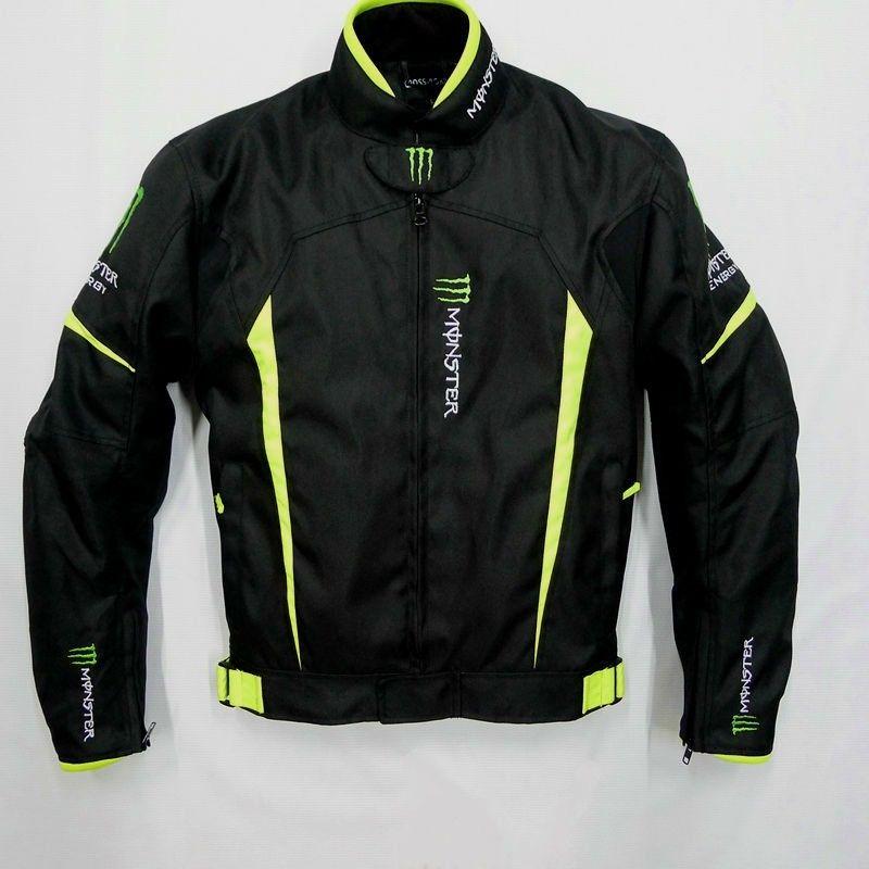 MONSTER ENERGY モンスターエナジー メッシュ メンズ バイク ジャケット ライディングジャケット 春 秋 冬 3シーズン 防風 防寒 160119gzscf06