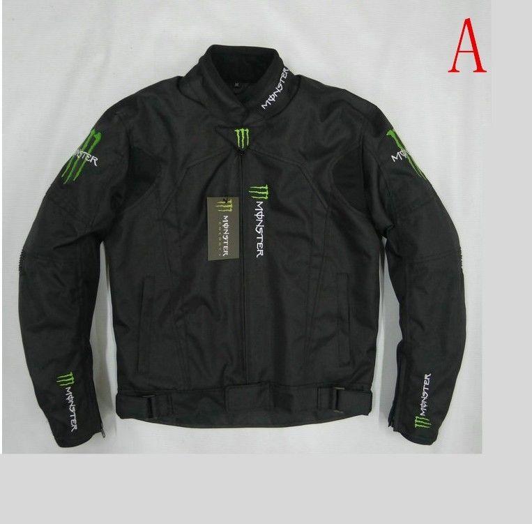 MONSTER ENERGY モンスターエナジー メッシュ バイク ジャケット ライディングジャケット 春 秋 冬 3シーズン 防風 防寒 プロテクター装備 160119gzscf05