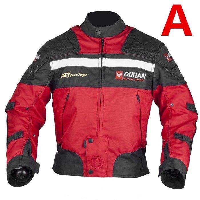 DUHAN製バイクジャケット メッシュ プロテクター装備 レーシング ライディングジャケット ナイロンジャケット バイクウエア 防風 防寒 3シーズン duhanscf01