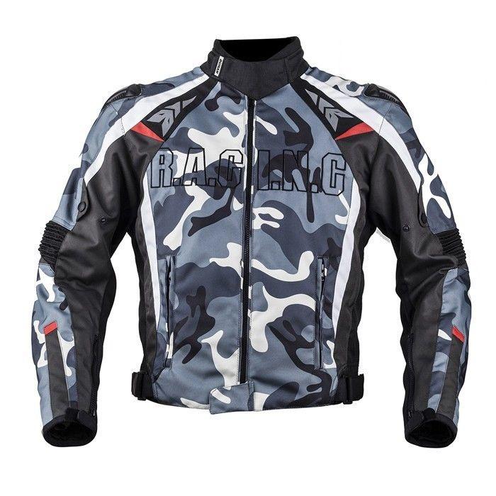 DUHAN製 メンズ バイク ジャケット メッシュ ライディングジャケット 春 秋 冬 3シーズン 防風 防寒 プロテクター装備 16duhanscf05