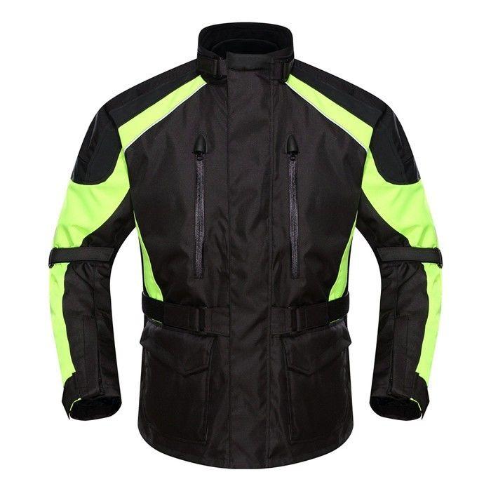 DUHAN製 メンズ バイク ジャケット メッシュ ライディングジャケット 防水 春 秋 冬 3シーズン 防風 防寒 プロテクター装備 duhanscf04