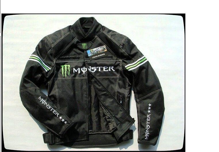 MONSTER ENERGY モンスターエナジー バイク ジャケット ライディングジャケット 春 秋 冬 3シーズン 防風 防寒 プロテクター装備 160804gzscf01