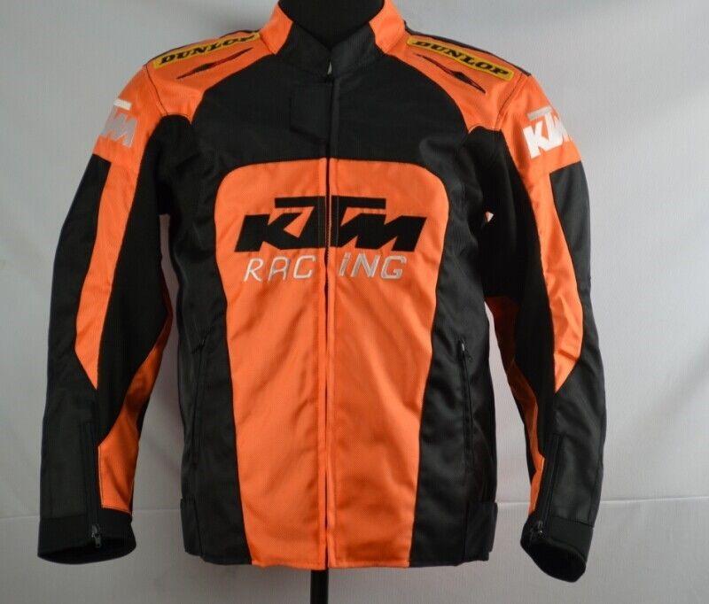 KTM メンズ バイク ジャケット メッシュ ライディングジャケット 春 秋 冬 3シーズン 防風 防寒 プロテクター装備 160122ktmyf01