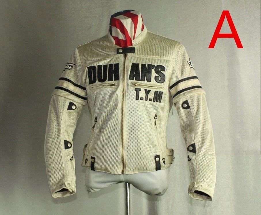 DUHAN製 メンズ バイク ジャケット ライディングジャケット メッシュ 春 夏 秋 3シーズン プロテクター装備 duhanscf07