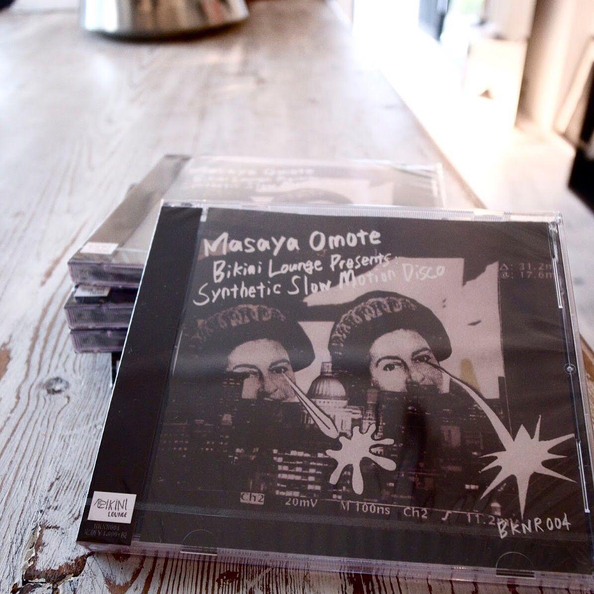 Masaya Omote / BIKINI LOUNGE presents : Synthetic Slow Motion Disco (MIX-CD)