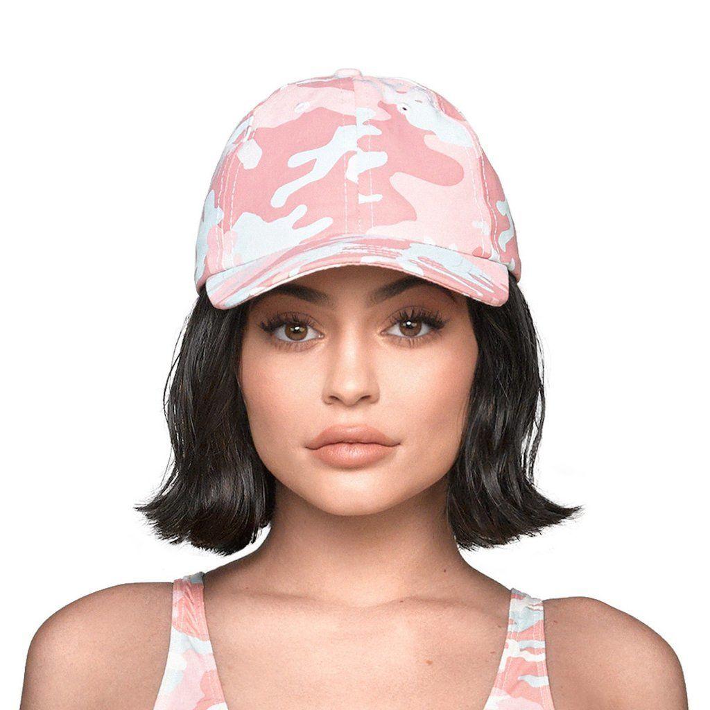 Kylie jenner/official CAMO CAP ピンク