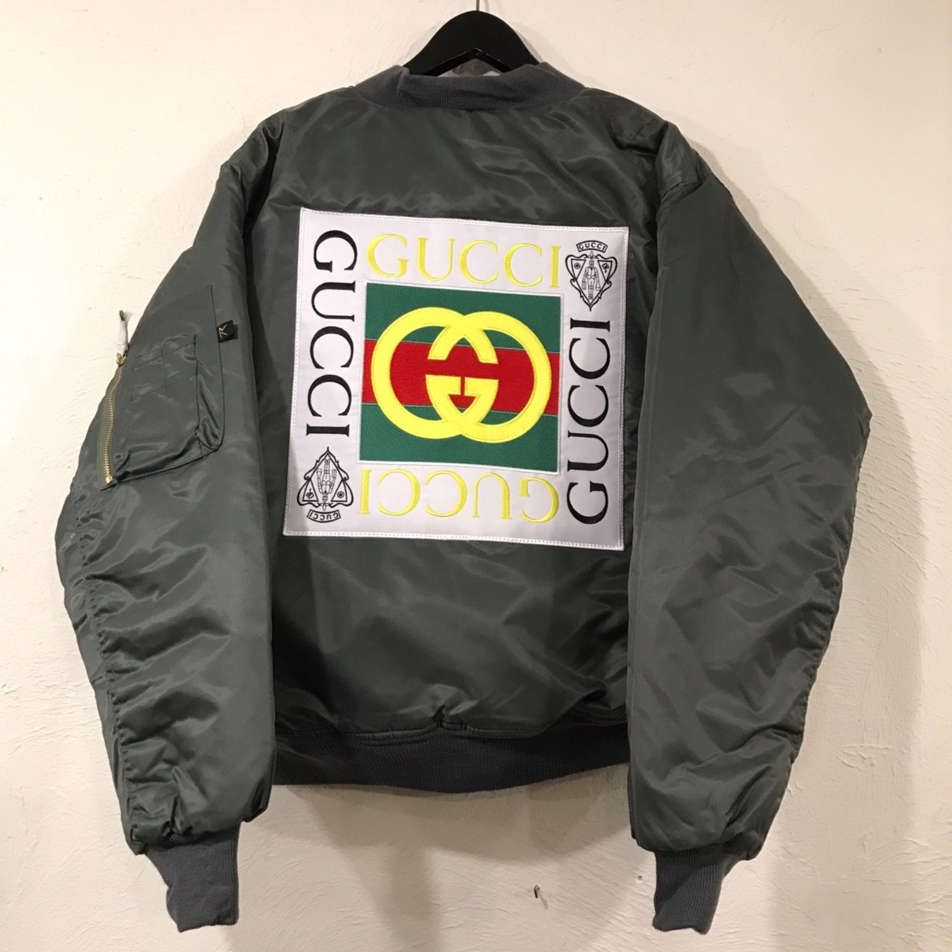 Mismatch NYC/Custom Bootleg MA1 Jacket  OLIVE