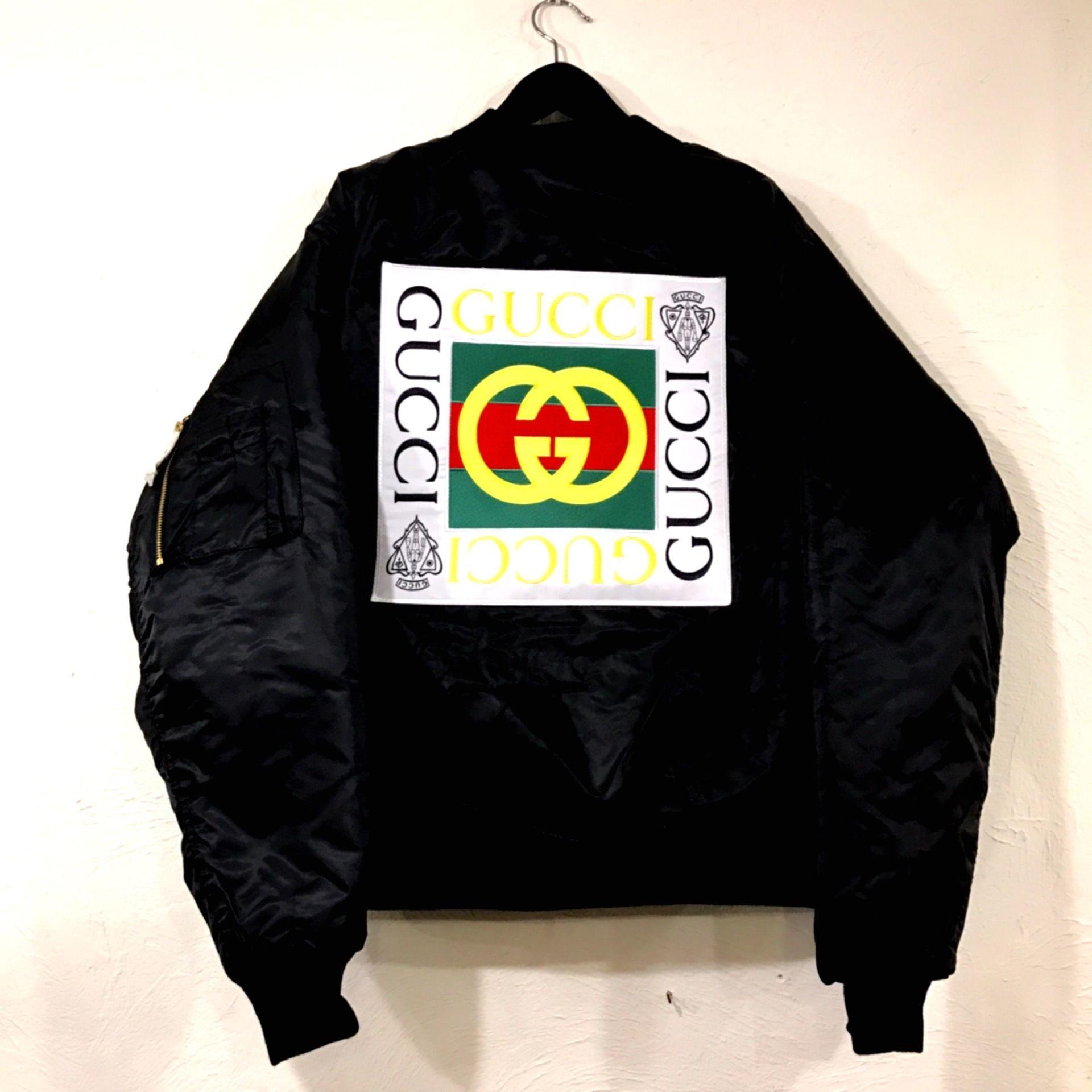 Mismatch NYC/Custom Bootleg MA1 Jacket BLACK