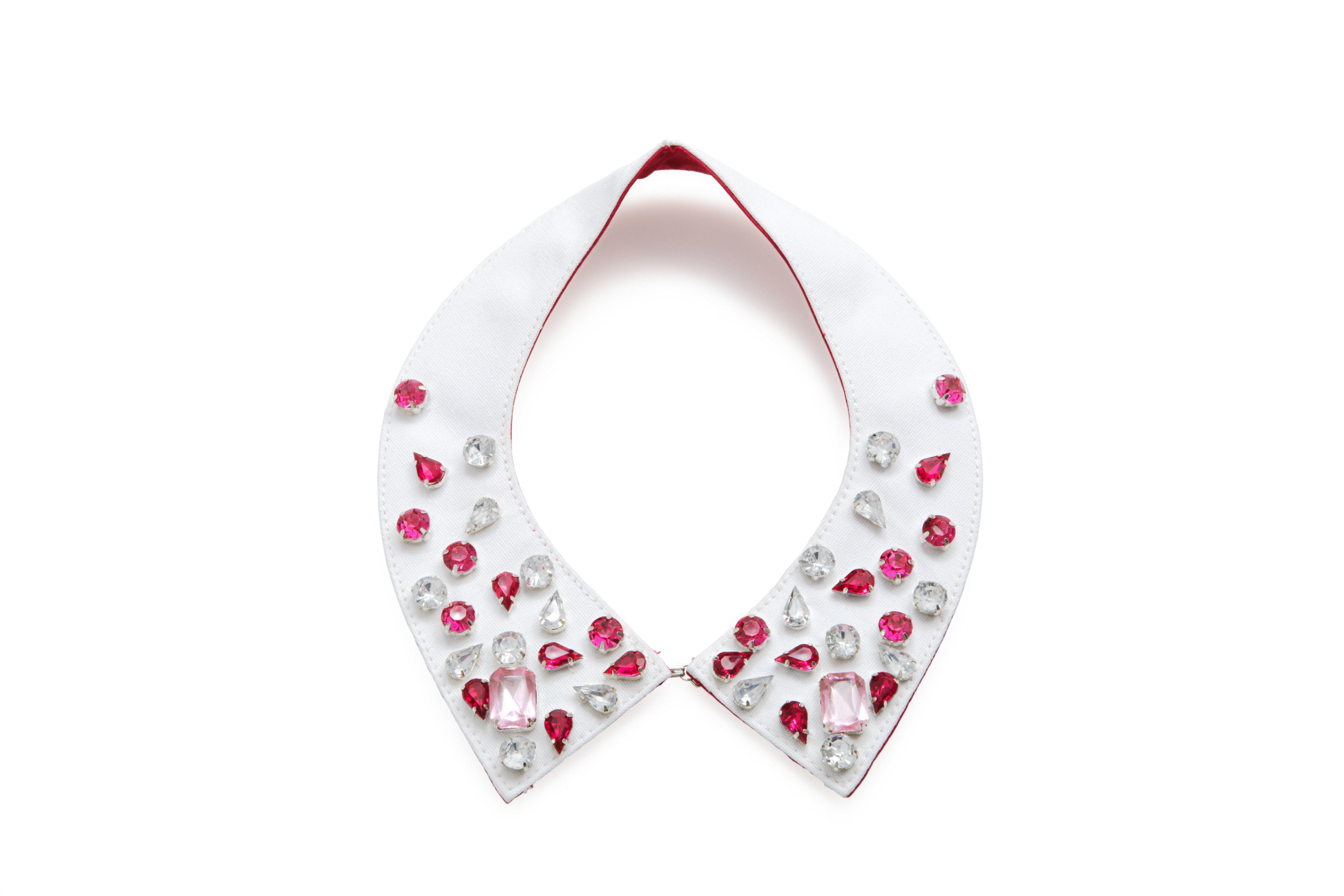 Gemma Lister Pink Gem Collar