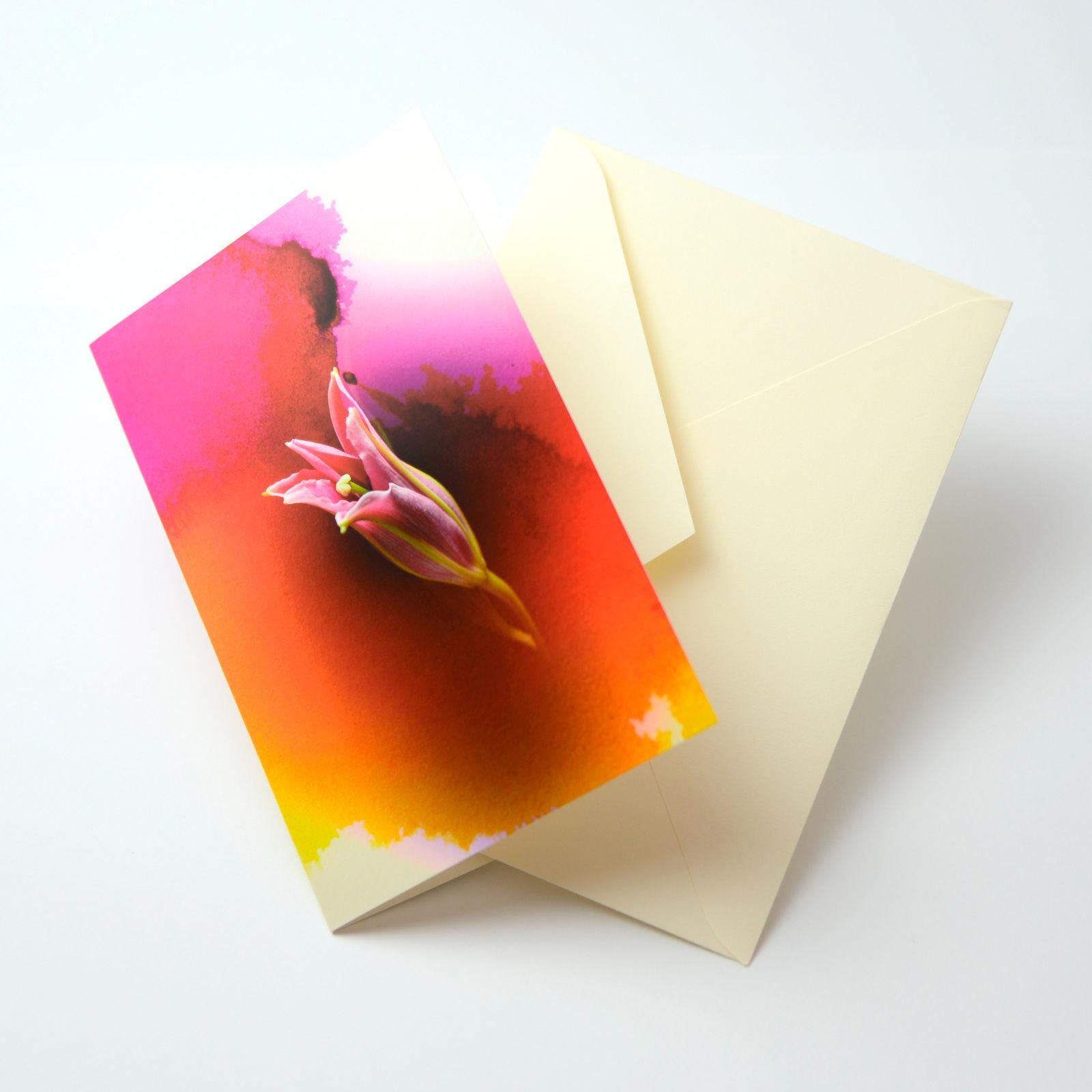 Bloom Card 01 (百合)