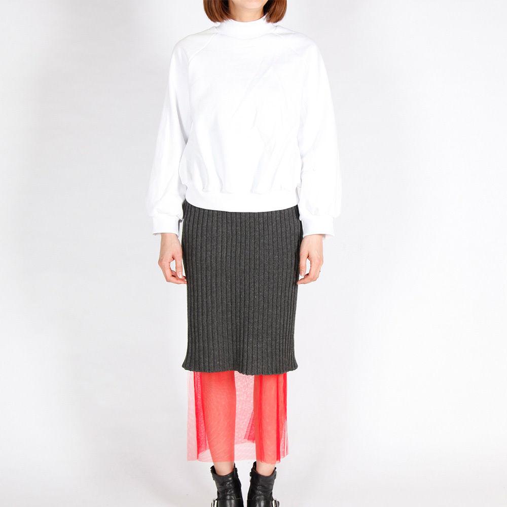 【GINNIE 在庫一掃セール!新品!】チュールニットスカート