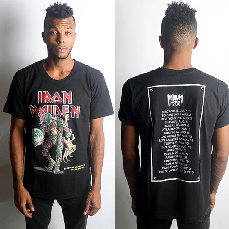 IRIDIUM - Tour shirt iron M