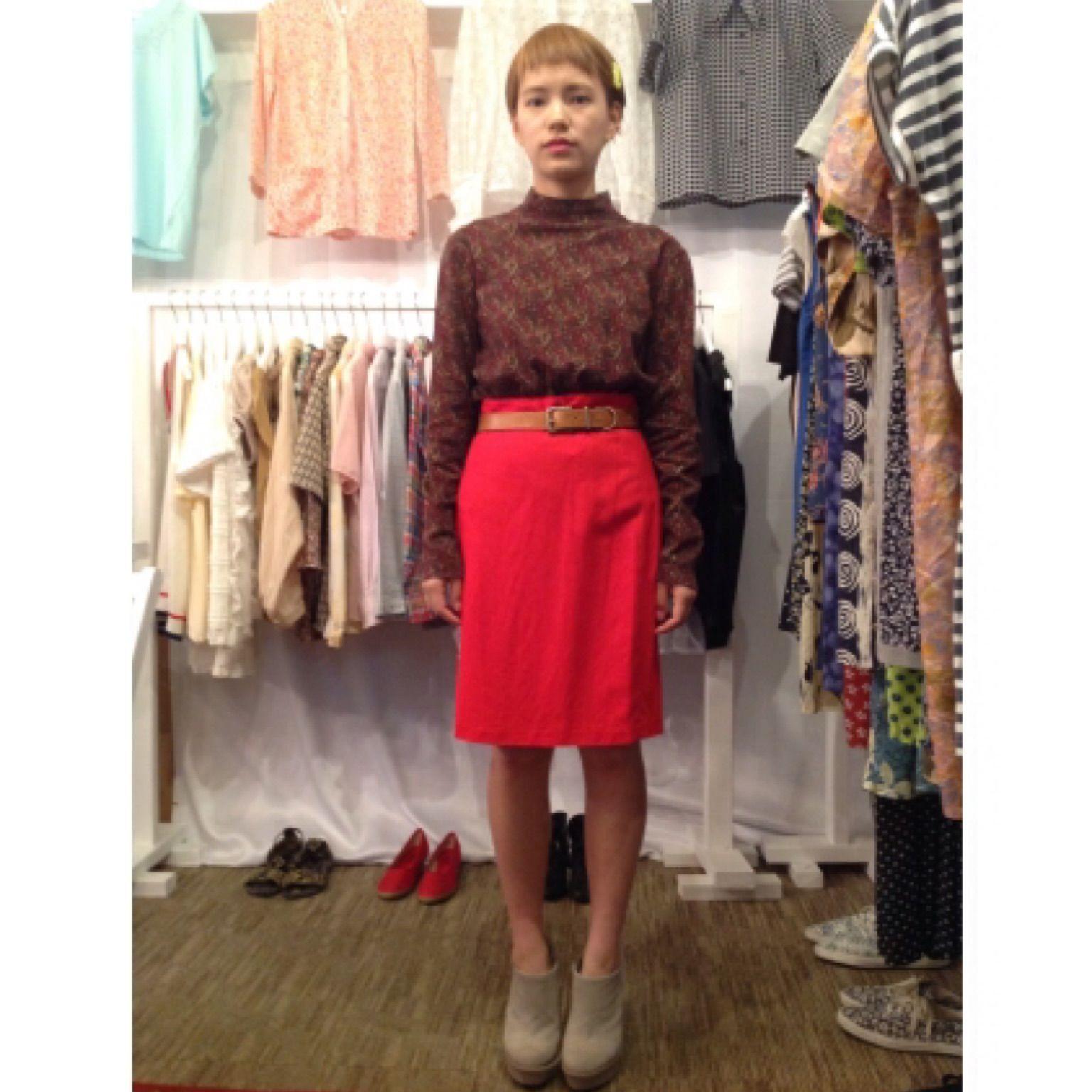 ☆80%OFF SALE☆レッドサマータイトスカート