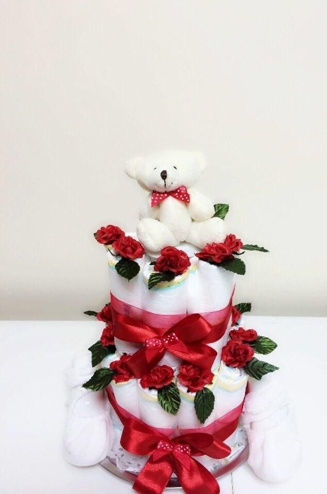 オムツ ケーキ