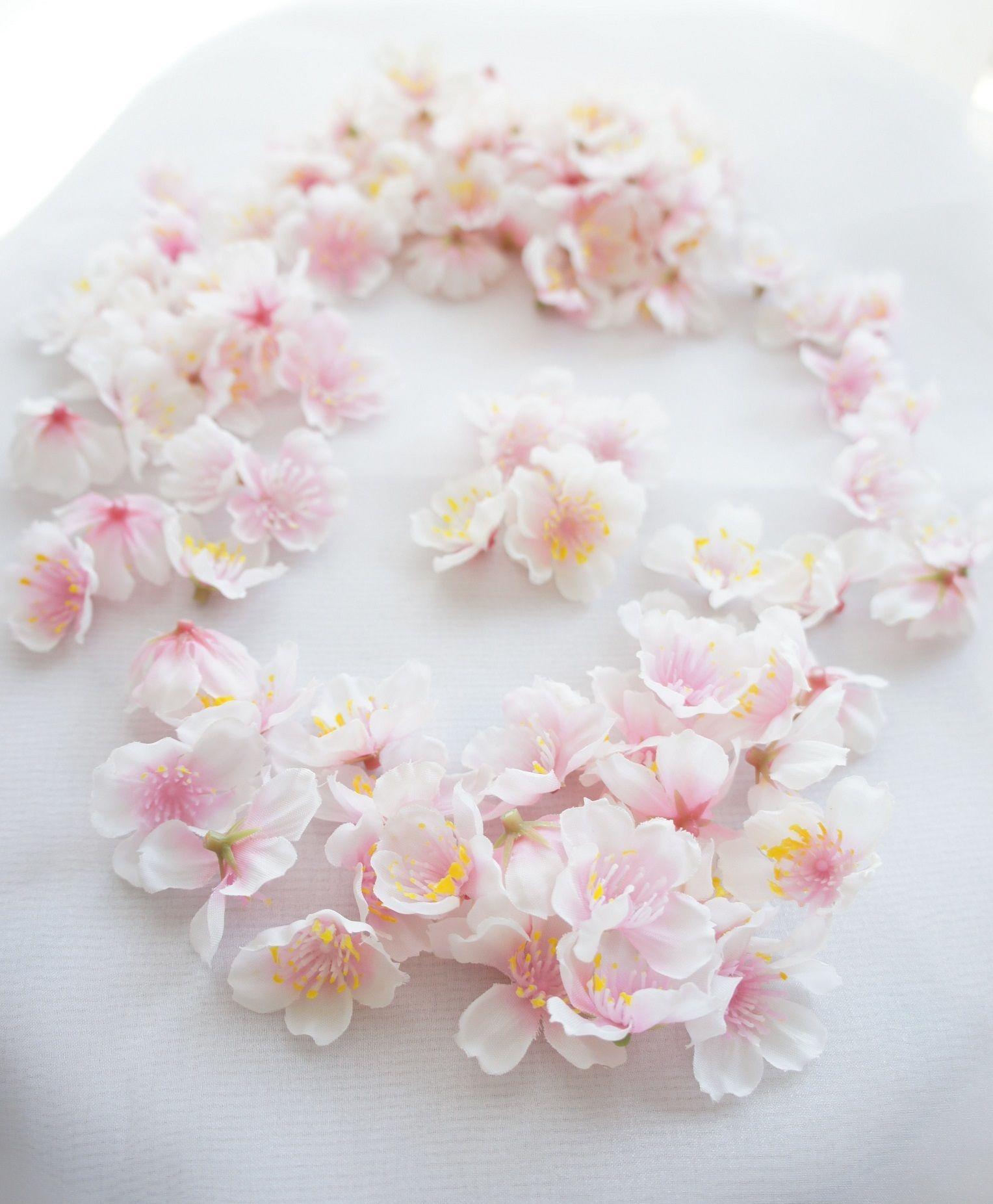 春のウェディングに♪卒業式に♪SAKURA・桜のフラワーシャワー