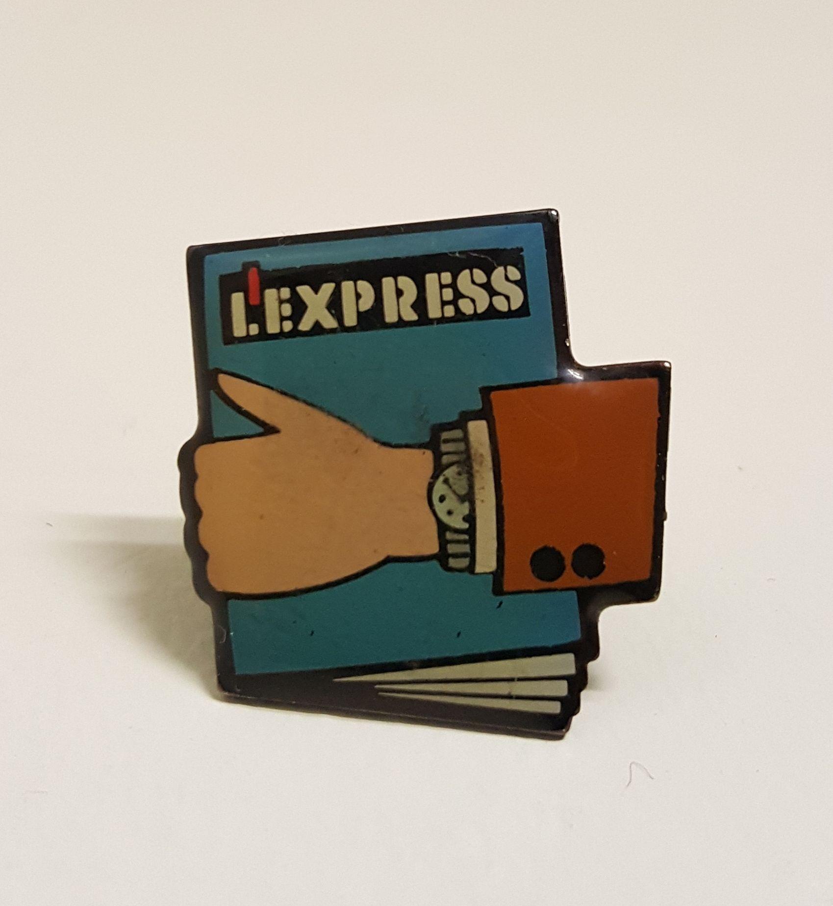 ピンバッジ  L'EXPRESS