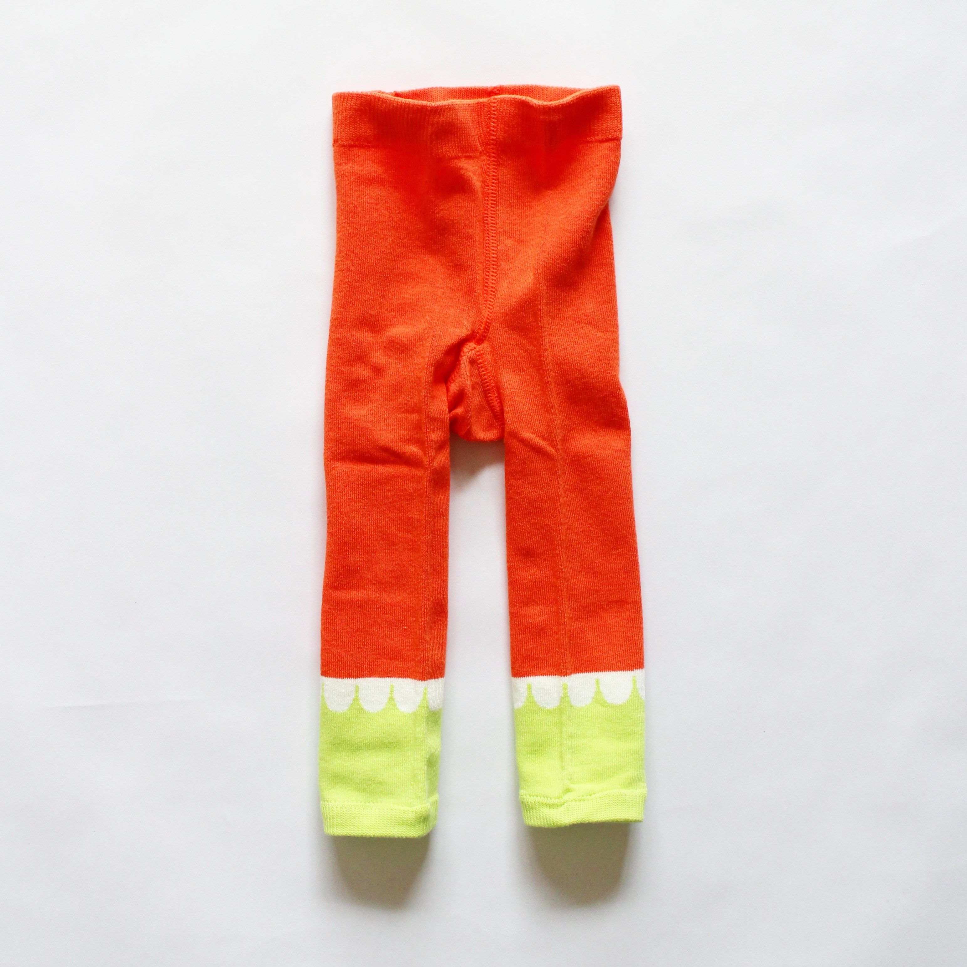 wavy cuff legging / pinky pink