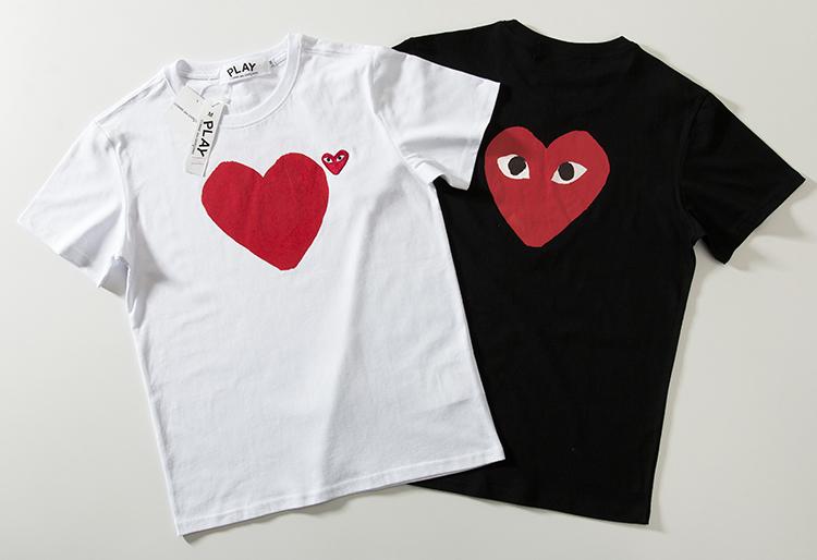 COMME des GARCONS コムデギャルソン (PLAY) tシャツ 半袖 mio020