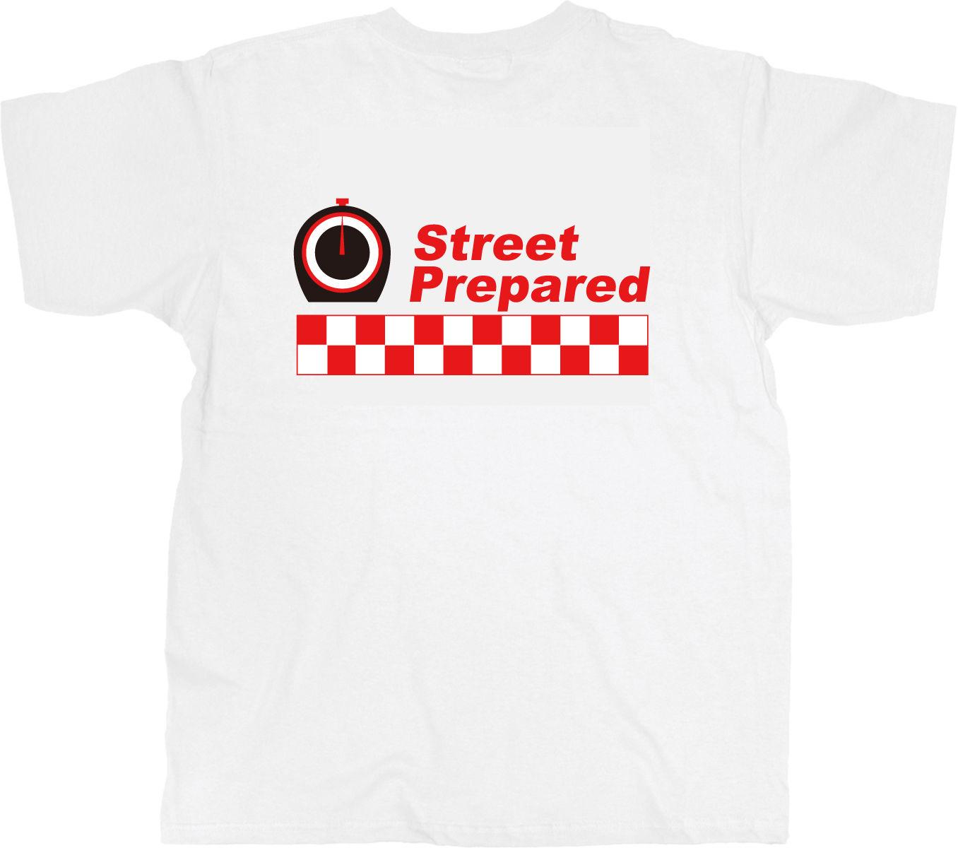 SP001  Street Prepared logo T-shirt
