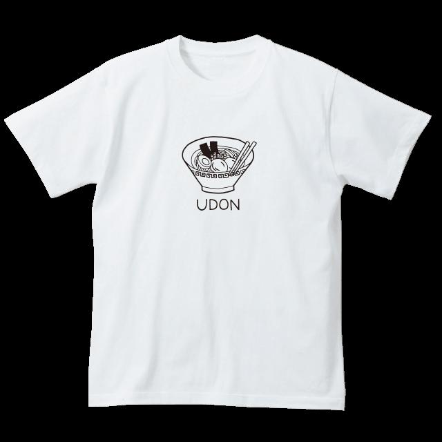 福岡RRラーメンTシャツ(ホワイト)