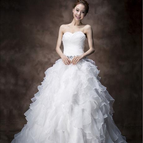 プリンセスブライドウェディングドレス