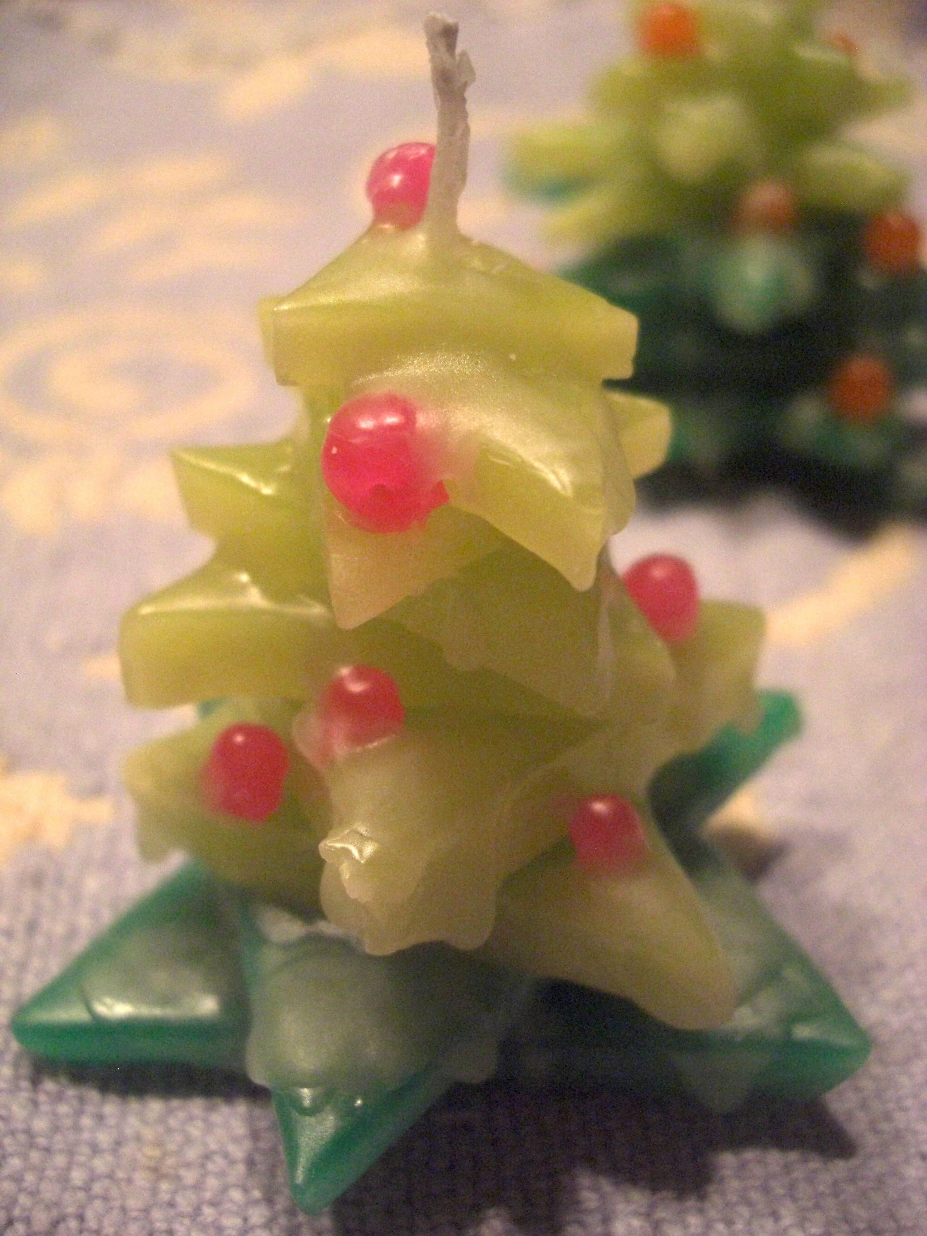 【キット】クリスマスツリーキャンドル2