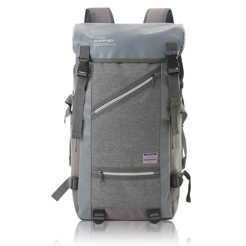 リュック ナイロン 大容量 メンズ バックパック 全3色 AP-056 (グレー)