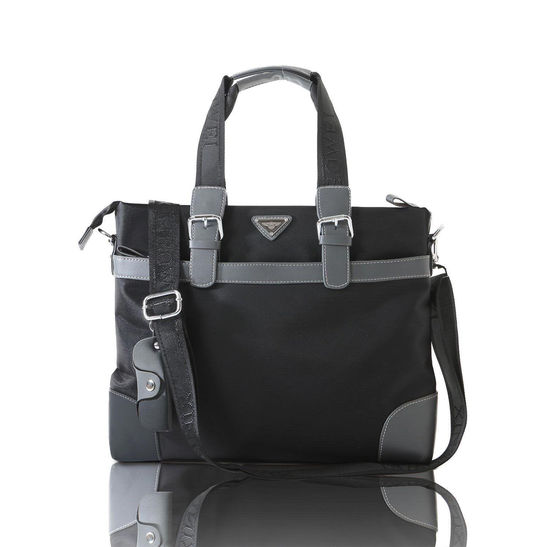 [カルリーノ] CARLINO ショルダーバッグ 防水 メンズ ビジネスバッグ 全2色 AP-043 (ブラック)