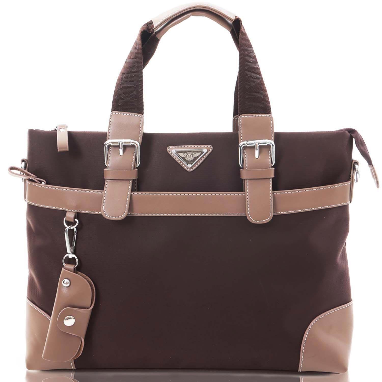 [カルリーノ] CARLINO ショルダーバッグ 防水 メンズ ビジネスバッグ 全2色 AP-043 (ブラウン)