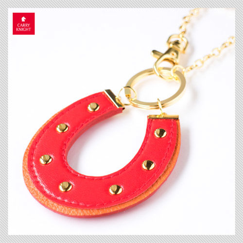 HORSESHOE CHARM 【red×orange】