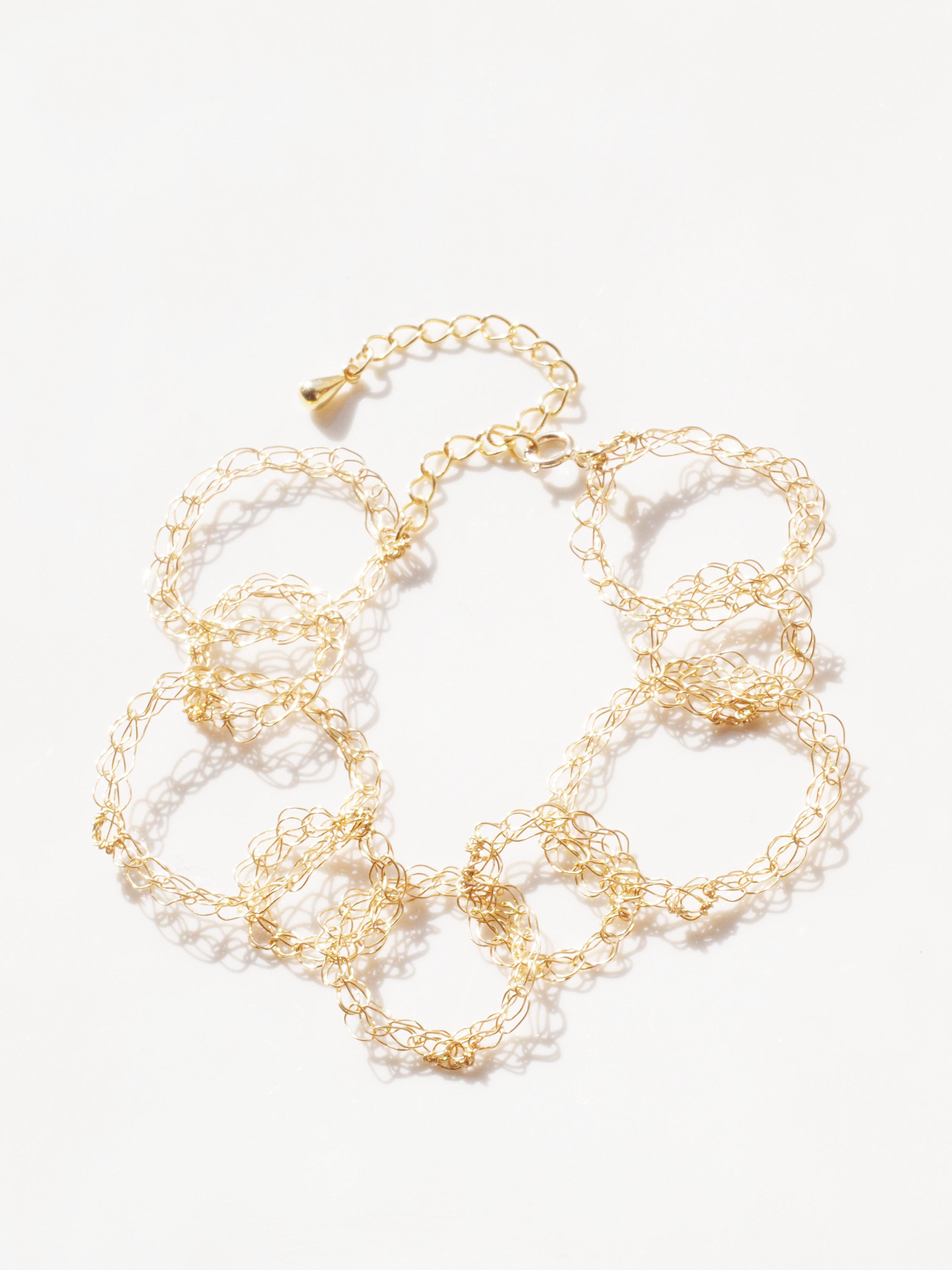 wire chain ブレスレット