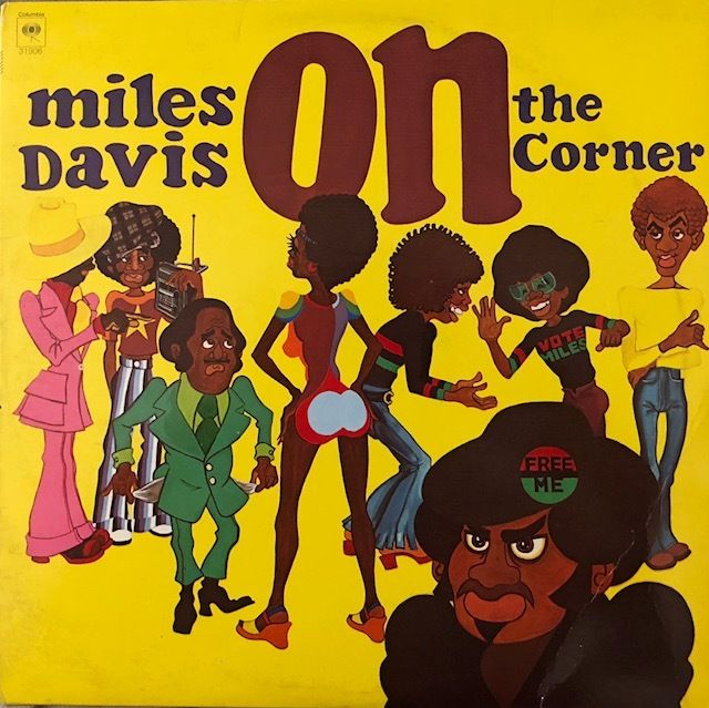 ON THE CORNER / MILES DAVIS LP