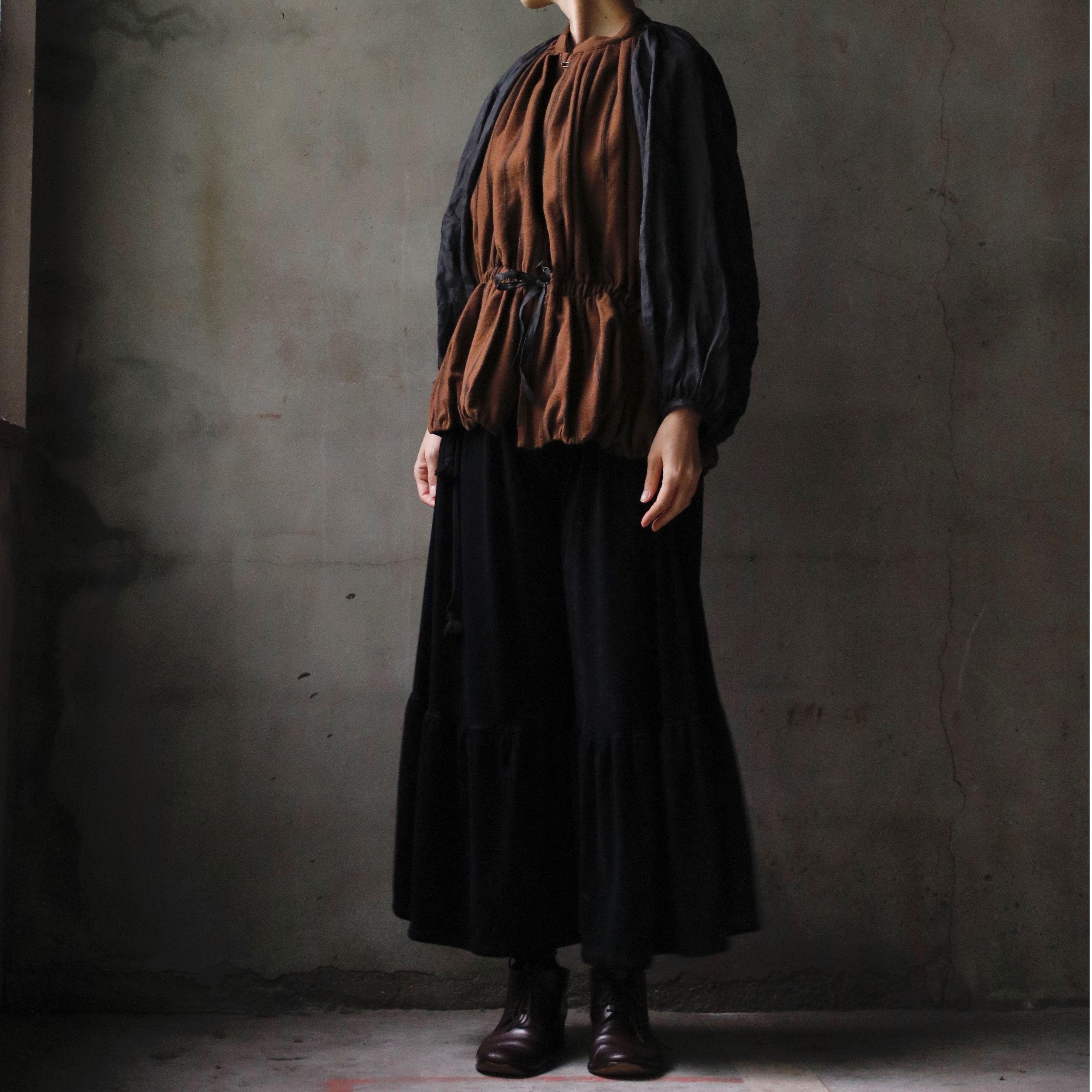 Tabrik タブリク /  Brown-stripe over jacketジャケット / ta-17031