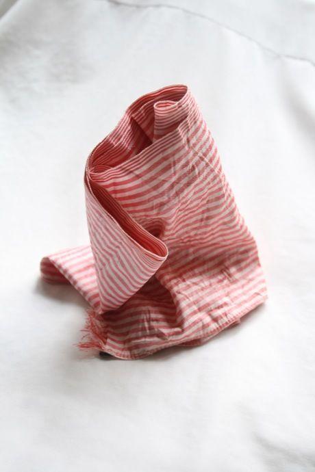 Aski Kataski アスキカタスキ / シルクアスコットスカーフ Silk Ascot scarf/ ak-15004