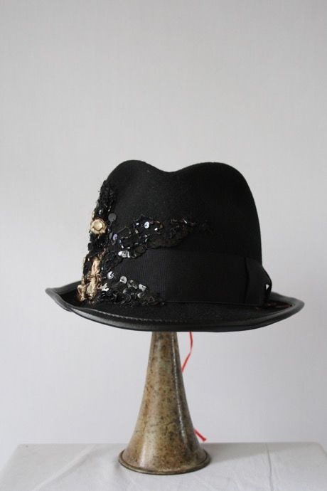 Reem リーム /アンティークコラージュハットAntique Collage Hat / re-15004