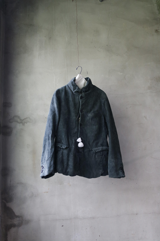 Bergfabel バーグファベル / work leather jacketワークレザージャケット/ bf-15021